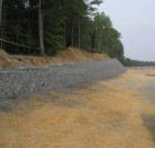 industrial retaining wall picture