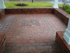 Picture of pavers in a gazebo at The Parke at Manakin Woods