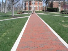Randolph Macon College memory walk