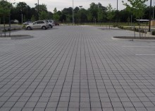 Permeable Pavers at Simonsdale Elementary