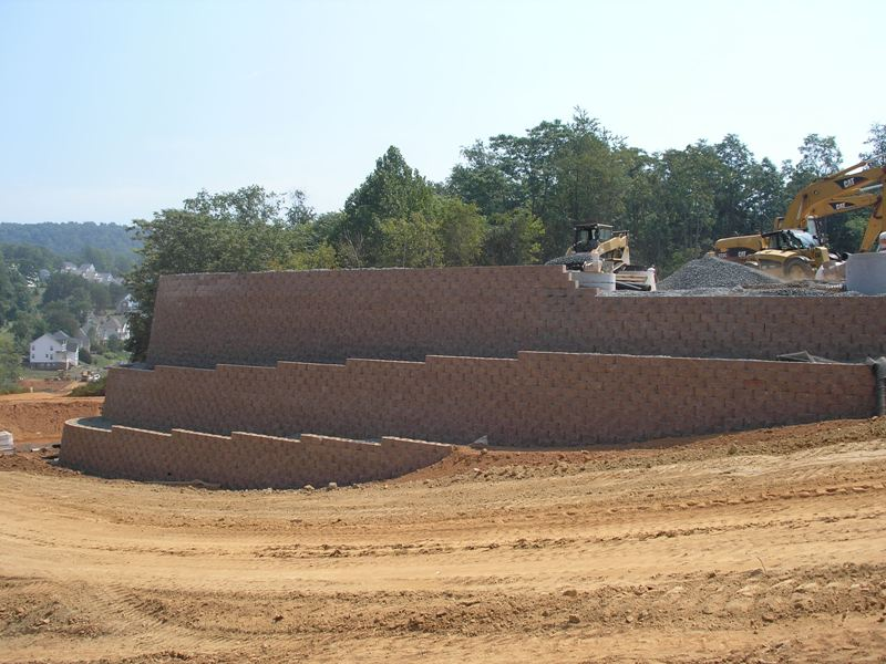 Commercial Applications For Segmental Retaining Walls