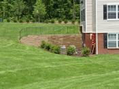 Anchor Diamond Pro retaining wall