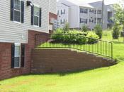 Allan Block segmental retaining wall