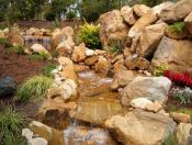 Tarrington subdivision with water feature